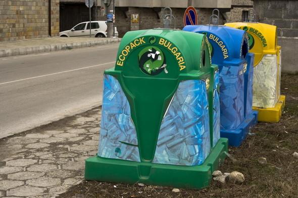 Во «Внуково» установили контейнеры для раздельного сбора мусора. Изображение № 4.
