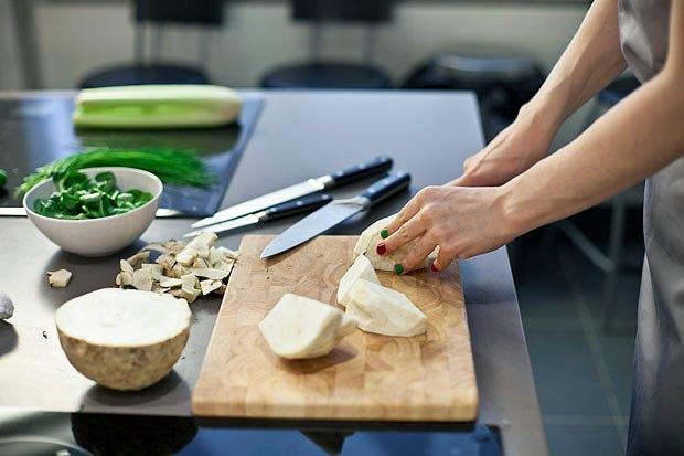Шеф дома: Ростбиф-салат и тыквенная каша Мириам Сехон. Изображение № 17.