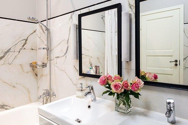 Интерьер с помощью зеркал