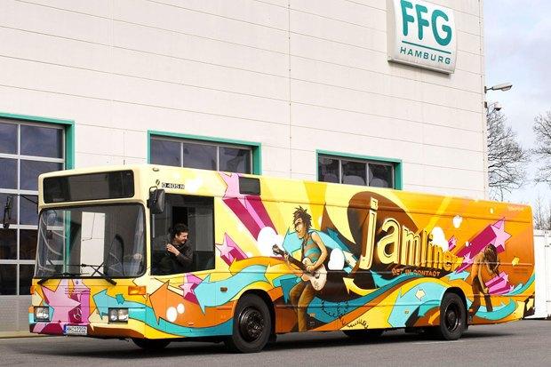 Как превратить городской автобус встудию звукозаписи . Изображение № 2.