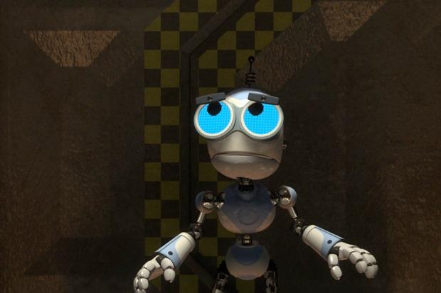«Болт и Блип спешат на помощь», мульт про двух весёлых роботов с Луны, спасающих Вселенную от козней ужасного Доктора Блада. Изображение № 2.