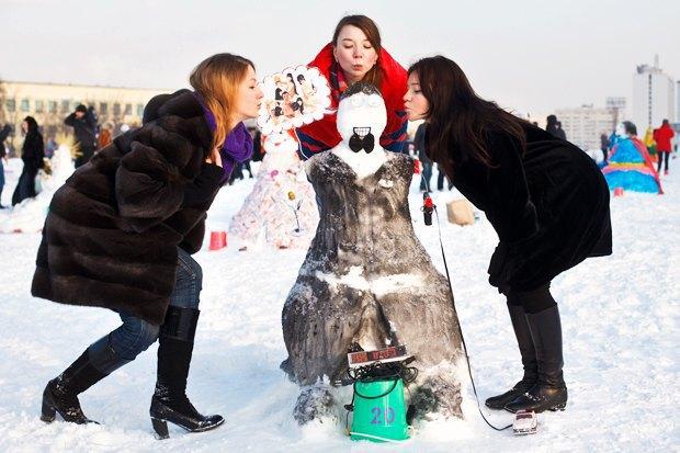 Люди в городе: «Арт-битва снеговиков». Изображение № 33.
