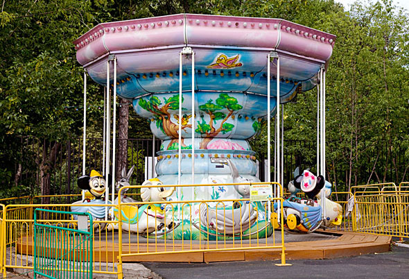 Карусель карусель 6 московских парков