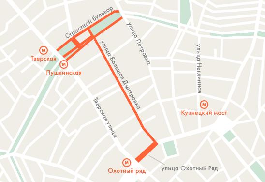 23 февраля перекроют Страстной бульвар. Изображение № 1.