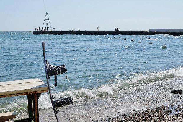 На воде: Виндсёрфинг, вейкбординг и дайвинг в Одессе. Зображення № 36.