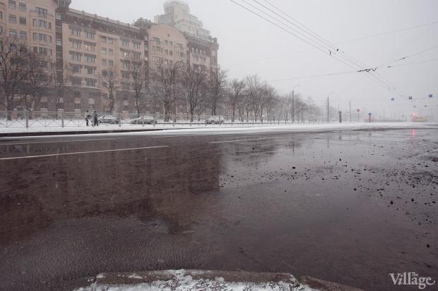 Фоторепортаж: Прорыв труб на «Приморской». Изображение № 1.