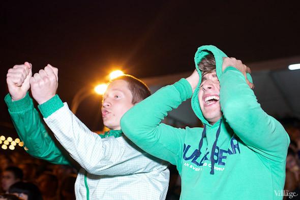 Фоторепортаж: Болельщики в фан-зоне парка Горького. Изображение № 6.