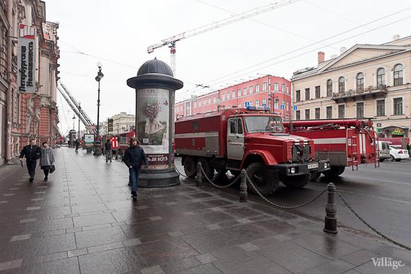 В Петербурге горел дворец Белосельских-Белозерских. Изображение № 2.