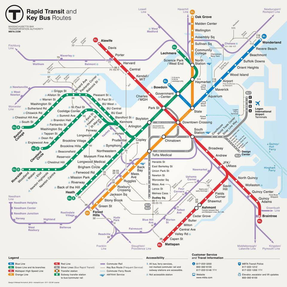 Личный опыт: Как выиграть конкурс на новую схему метро Бостона. Изображение № 9.