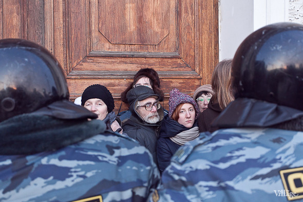 Фоторепортаж: Митинг 5 марта на Исаакиевской площади. Изображение № 26.