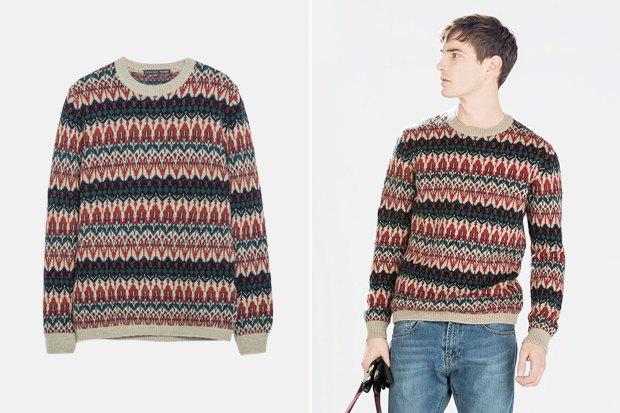 Мужские новогодние свитеры: 9вариантов от 1500 до16тысячрублей. Изображение № 5.