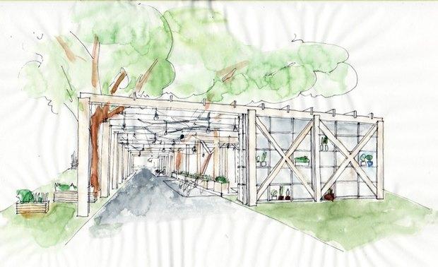 В Нескучном саду открывается кафе «Теплица». Изображение № 2.