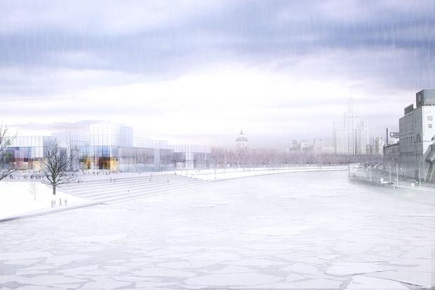 Зарядье «после», зима. Изображение № 9.