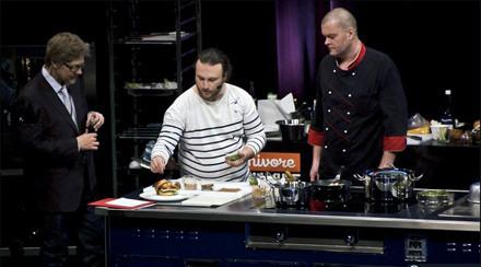 Выступление Ивана Шишкина, шеф-повара Delicatessen, на Omnivore Food Festival во Франции в феврале 2011 года. Изображение № 1.