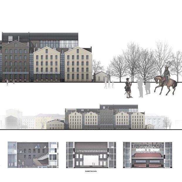 Определены сроки истоимость строительства «Театра Европы». Изображение № 6.