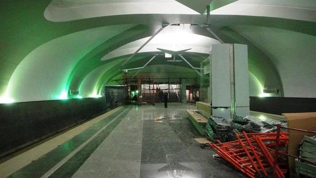 Мэрия показала новую станцию метро «Новокосино». Изображение №1.