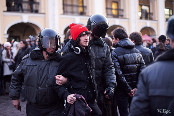 Copwatch (Петербург): Действия полиции на митинге «Стратегии-31». Изображение № 23.