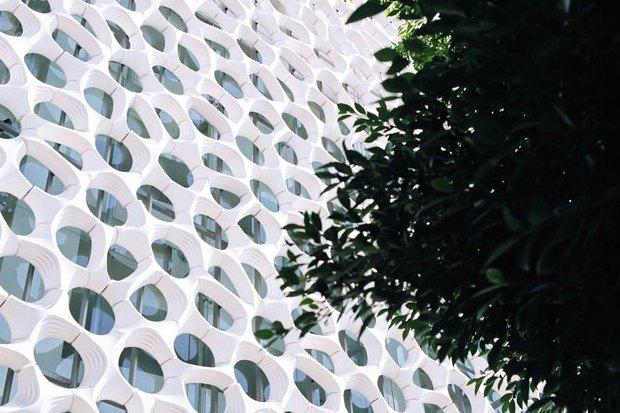 Иностранный опыт: Как фасад здания очищает воздух в Мехико. Изображение № 3.