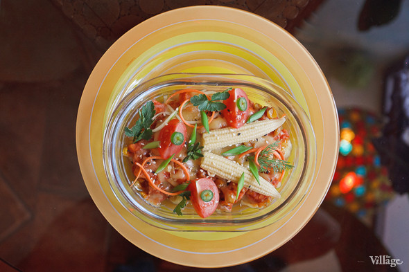 Горшочек «Розалинда» (запеченные овощи с чеддером и соевым мясом по-мексикански) — 210 рублей. Изображение № 32.