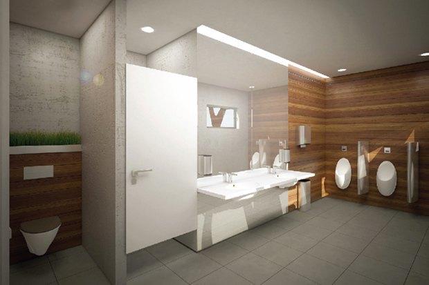 В Измайловском парке появится зеркальный туалет. Изображение № 2.