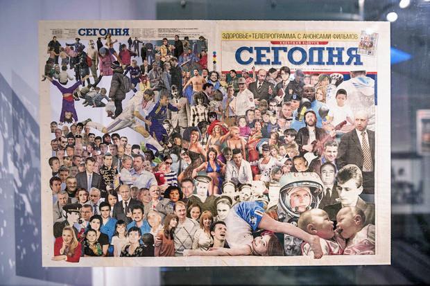 В PinchukArtCentre выставили «Толпу» Жанны Кадыровой. Зображення № 1.
