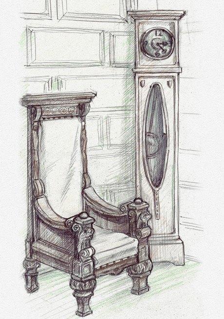 Клуб рисовальщиков: Особняк 1896 года. Изображение № 7.