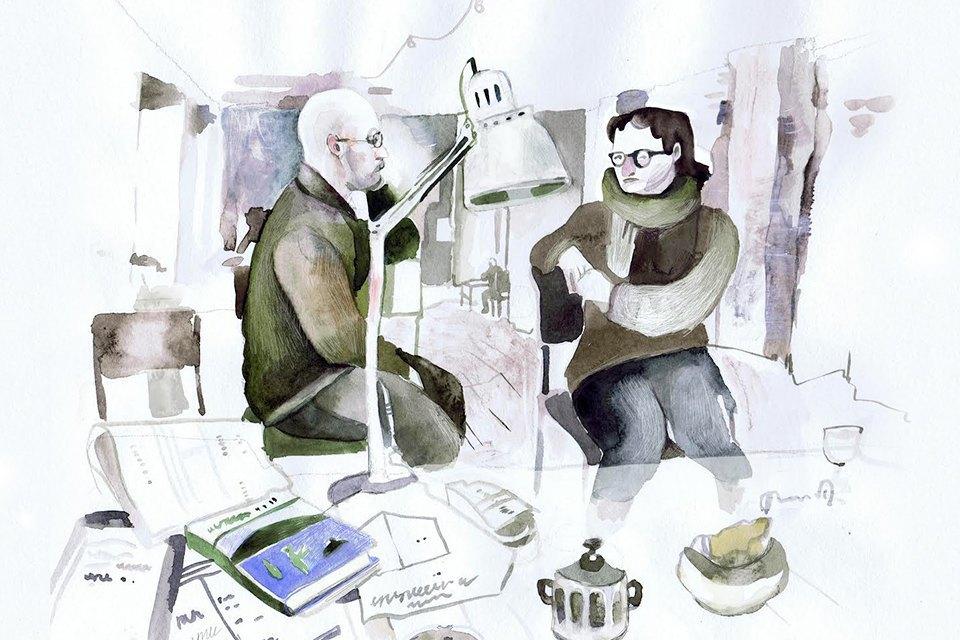 Московские офисы врисунках Лизы Смирновой. Изображение № 16.