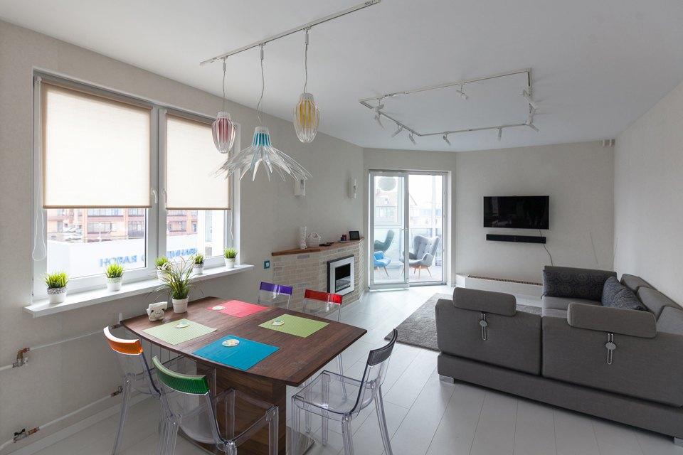 Квартира для семьи с двумя детьми. Изображение № 2.