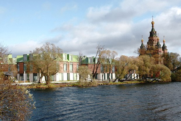 Строиться по одному: 12удачных примеров современной петербургской архитектуры. Изображение № 40.