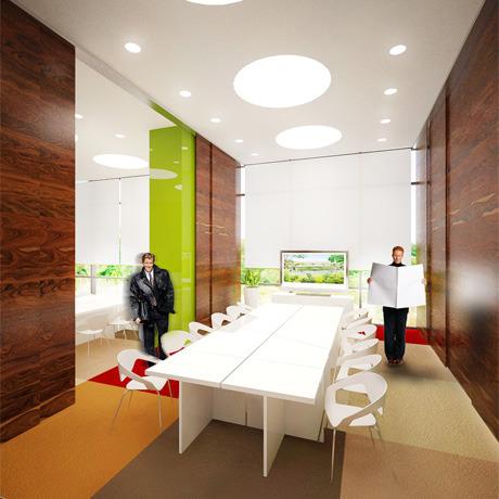 Для комплекса «Парковый» разработали дизайн интерьера. Зображення № 13.