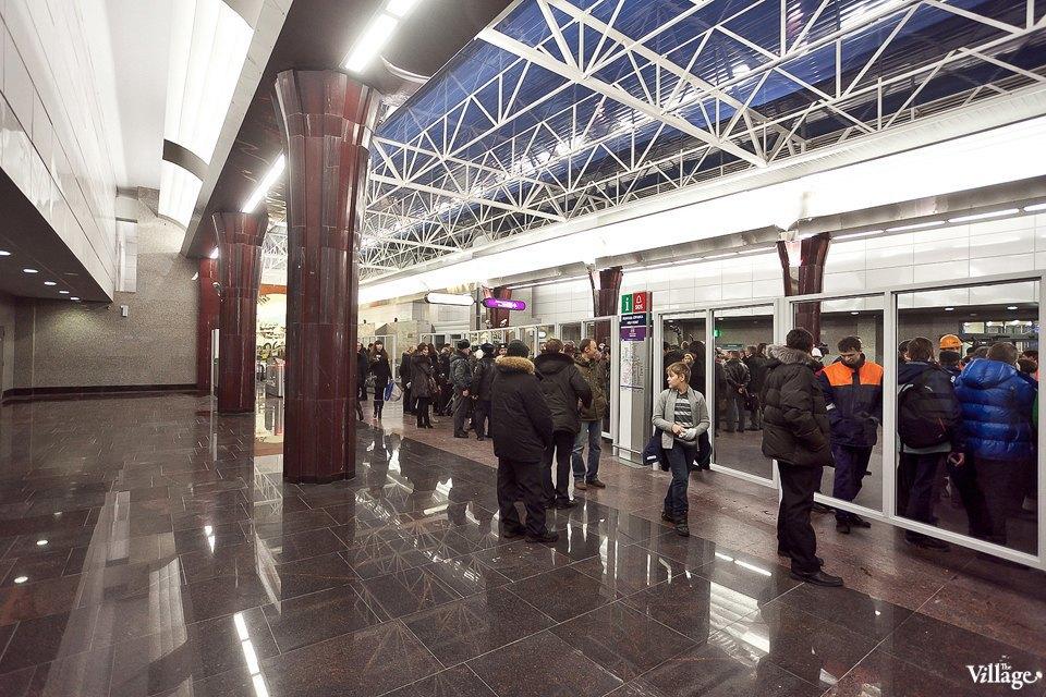 Фоторепортаж: Станции метро «Международная» и«Бухарестская» изнутри. Изображение № 2.