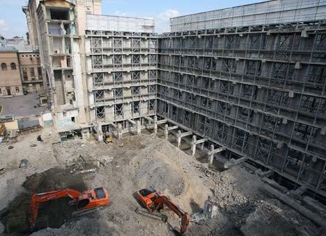 Фото дня: Строительство паркинга в ЦУМе. Зображення № 2.
