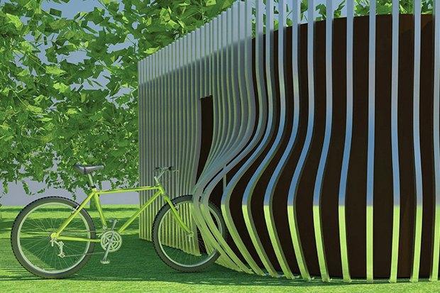 Для Измайловского парка выбирают дизайнерский туалет. Изображение № 3.