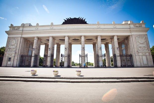 В парке Горького начали реставрацию ограды. Изображение № 1.