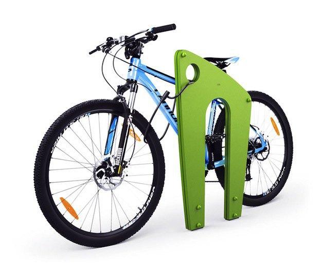 «Студия Лебедева» разработала дизайн велопарковок. Изображение № 1.
