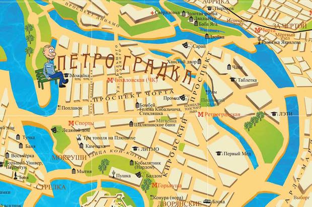 У Петербурга появилась неформальная карта. Изображение № 5.