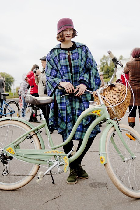 Твид выходного дня: Участники ретрокруиза — о своей одежде и велосипедах. Зображення № 11.