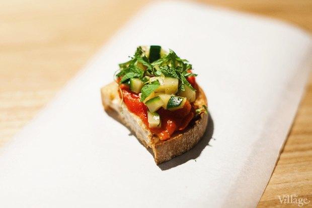 Бутерброд с запеченными овощами — 90 рублей . Изображение № 19.