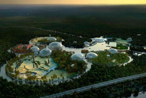 Вид на зоопарк с высоты птичьего полета. Изображение № 51.