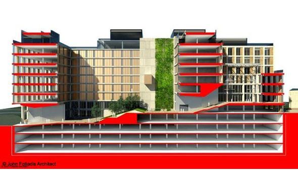 Здание проектировал главный архитектор Киева Сергей Целовальник. Изображение № 3.