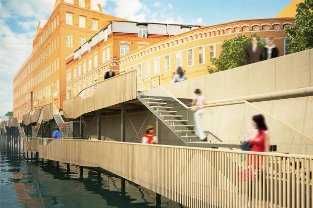 Берега-утопии: Какой могла бы быть Москва-река. Изображение №16.