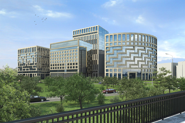 Многофункциональный офисно-административный комплекс. Изображение № 4.