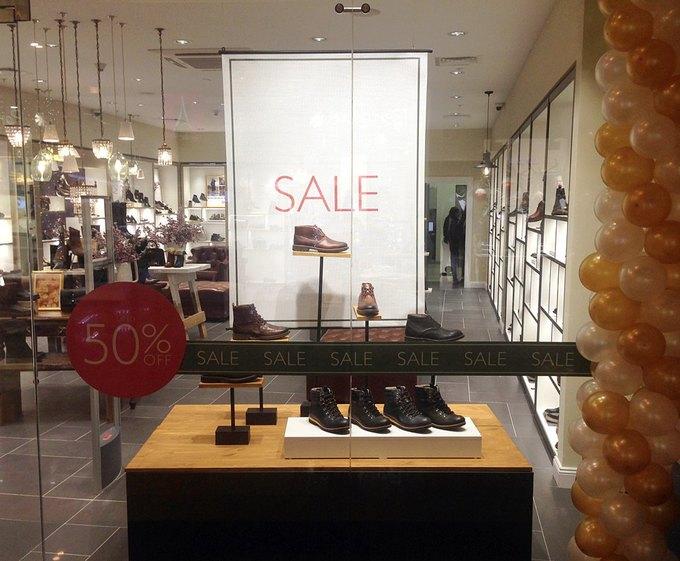 В «Афимолл Сити» открылся магазин обуви Clarks. Изображение № 1.