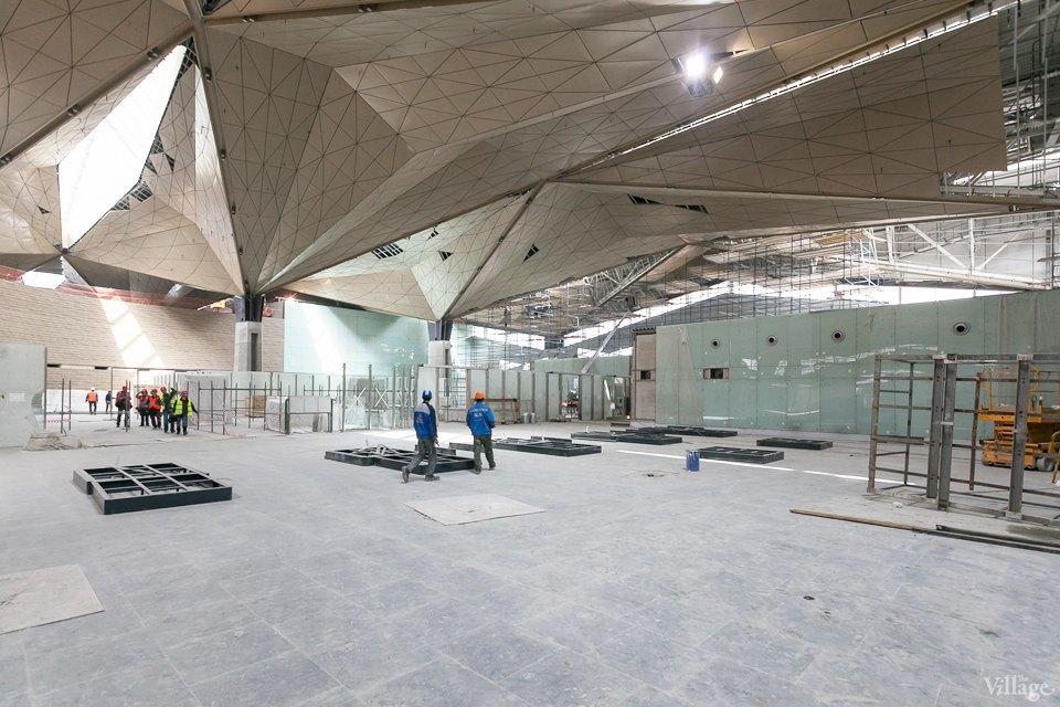 Фоторепортаж: Новый аэропорт изнутри. Изображение № 16.