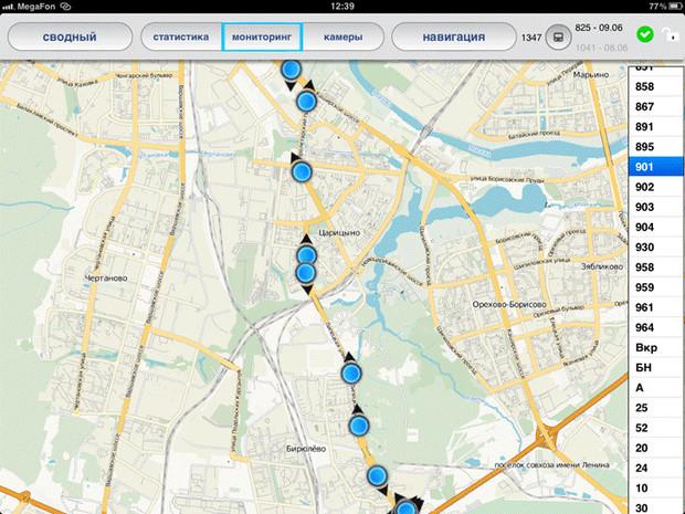 Движение автобусов по выделенным полосам теперь отслеживает система ГЛОНАСС. Изображение № 12.