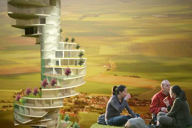 Иностранный опыт: 8 фантастических городских проектов. Изображение № 13.