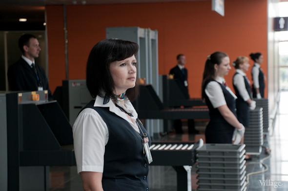 Фоторепортаж: В аэропорту Борисполь открыли самый большой на Украине терминал. Зображення № 20.