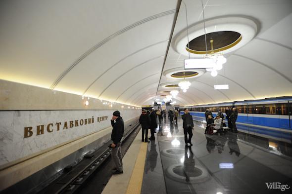 Фоторепортаж: В Киеве открылась новая станция метро. Зображення № 11.