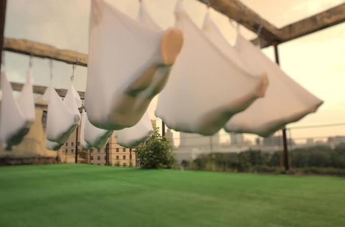 На крышах «Флакона» идома Наркомфина открываются летние фитнес-площадки. Изображение № 2.