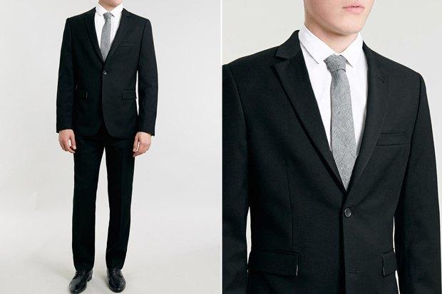 Где купить чёрный костюм: 9 вариантов от5 до45 тысяч рублей. Изображение № 4.